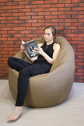 Кресло- мешок «Рогожка»  (большой размер)