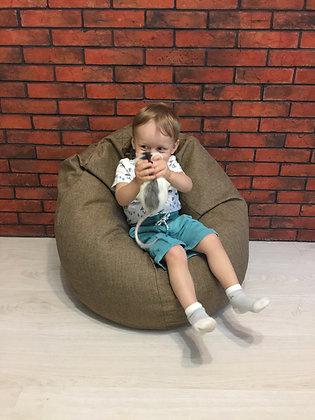Кресло-мешок «Рогожка»  (детский размер)