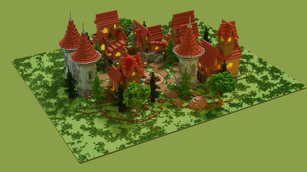 Medieval Village Spawn