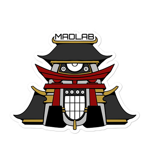 MAD Styles Temple sticker (bubble-free)