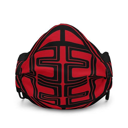 Jukebox Red face mask