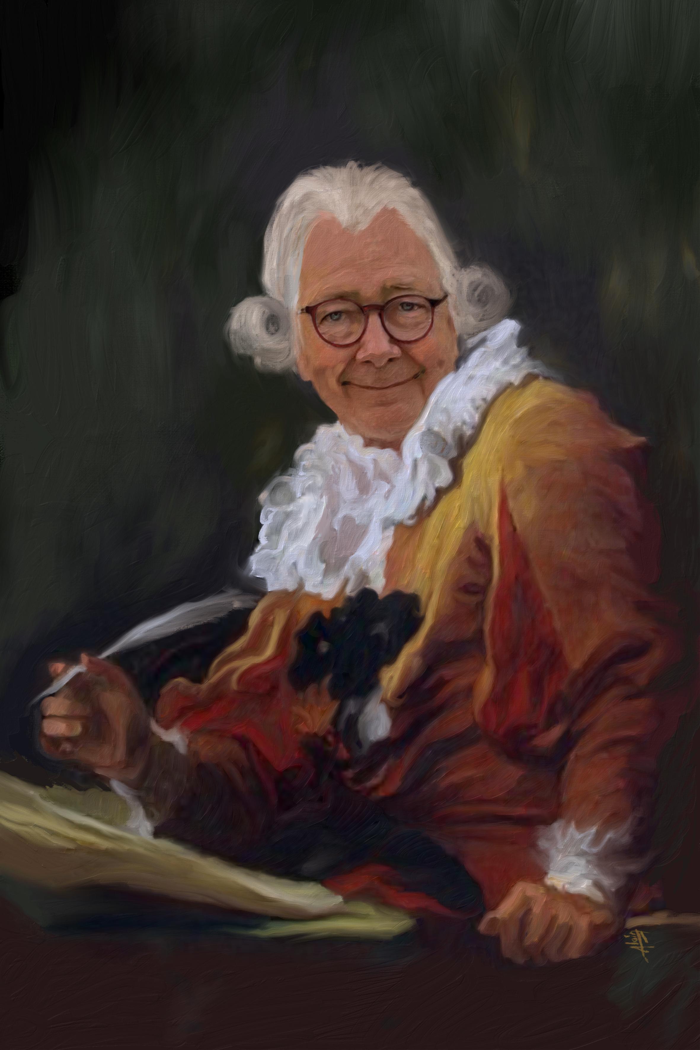 Le poète XVIII