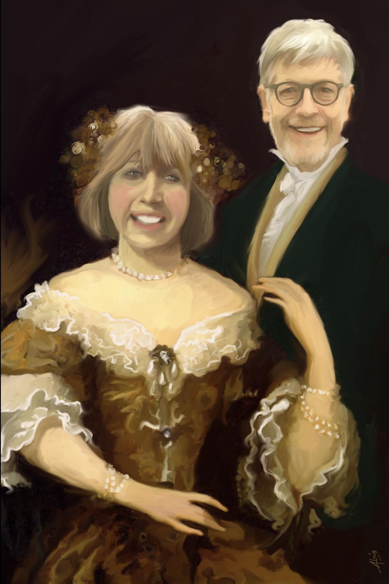 19ème siècle / Couple scientifiques