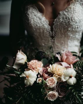 Moody & Mauve Bridal Bouquet