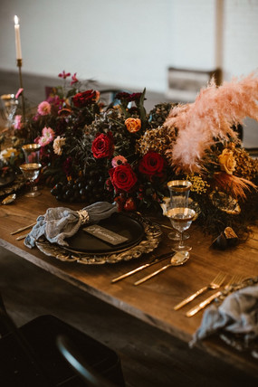 Baroque Inspired Tablescape