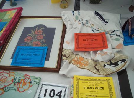 Alison's 1st Prize Needlework Win!