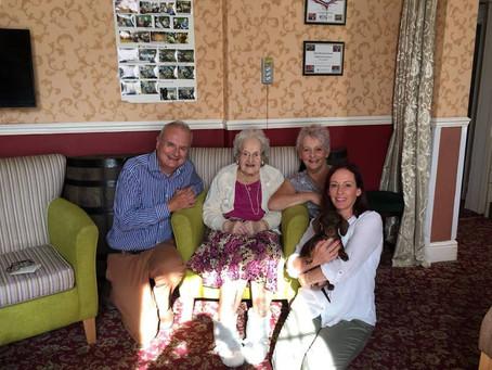 Gladys Celebrates 103rd Birthday