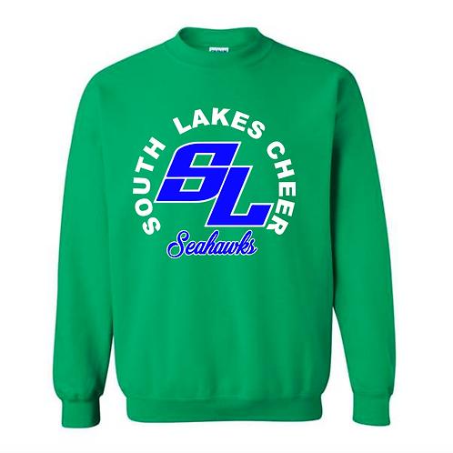 SL Green Crewneck Sweatshirt