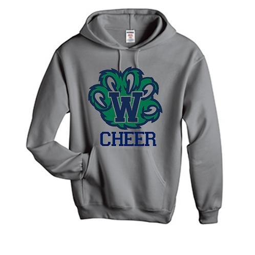 Gray W Cheer Sweatshirt