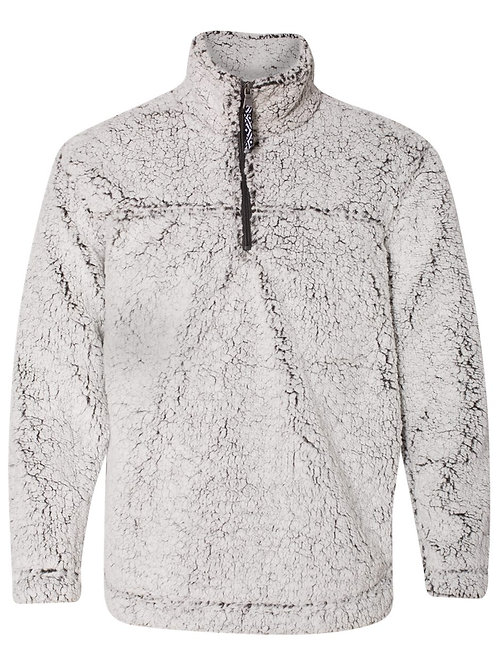 Monogramed Sherpa Pullover