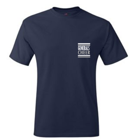 Navy  All Squad Short Sleeve Tee