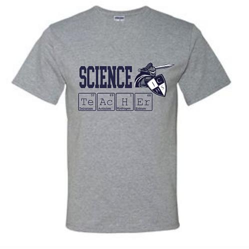 Short Sleeve Science Teacher Tee
