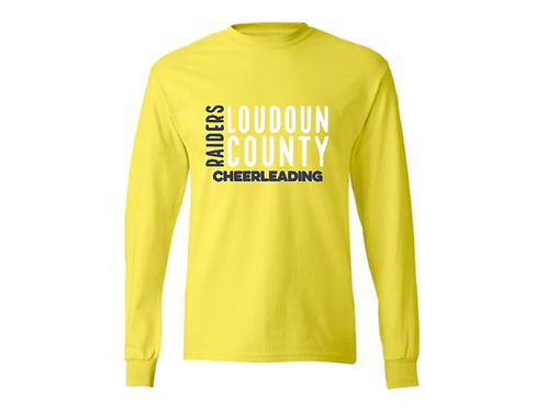 Yellow Long Sleeve Parent Shirt