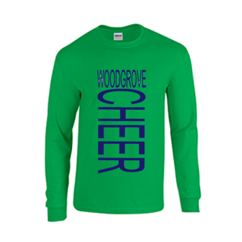 Long Sleeve Cheer Tee