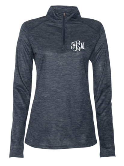 Quarter Zip with Monogram