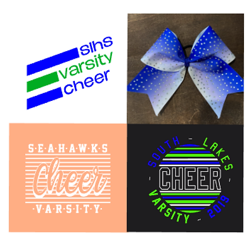 Practice Shirts and Camp Bow