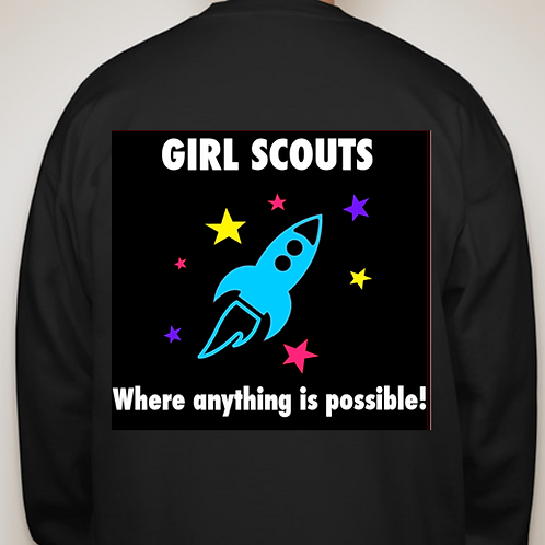 Youth Crew Neck Rocket Sweatshirt