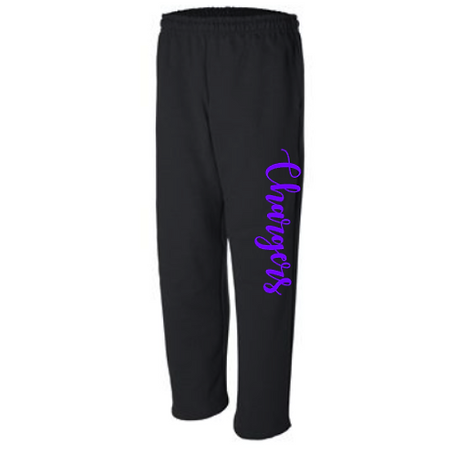 Sweatpants- Open Bottom Leg