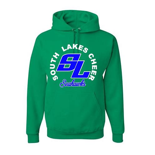 SL Green Hooded Sweatshirt
