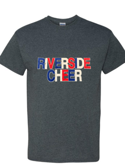 Gray Riverside Cheer T-Shirt