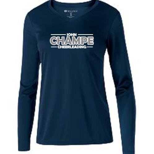 John Champe Cheerleading Navy Long Sleeve