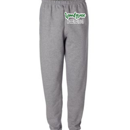Gray Sweatpants with Pockets