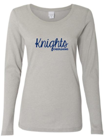 Knights Glitter Long Sleeve