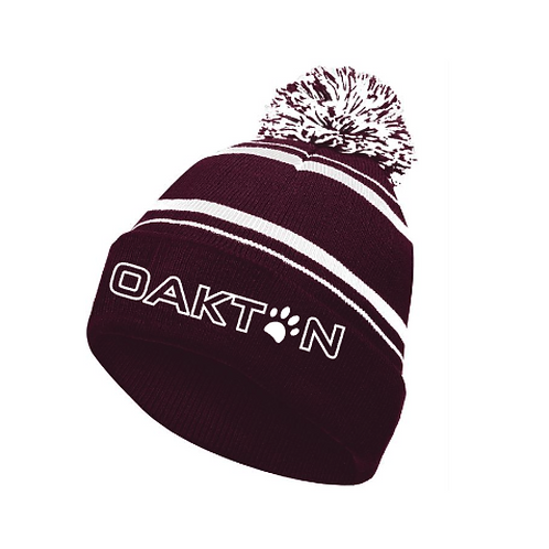 Embroidered Winter Hat