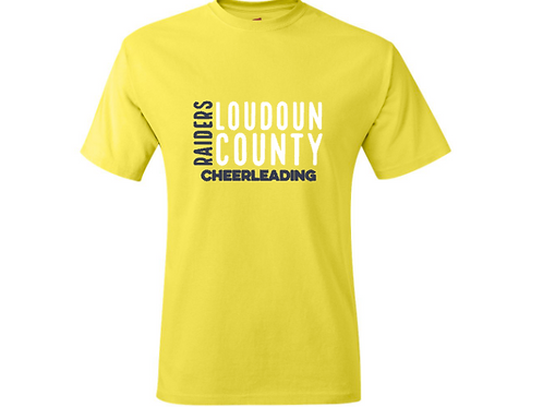 Yellow Short Sleeve Parent Tee