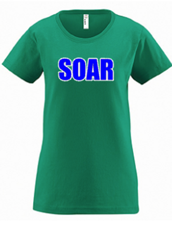 Green Women's Short Sleeve Tee
