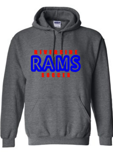 Rams Soccer Hoodie