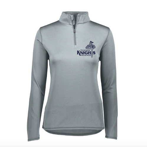 Ladies Cut Champe Science Quarter-Zip