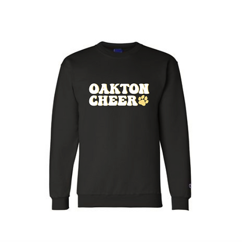 Oakton Cheer Crewneck Sweatshirt