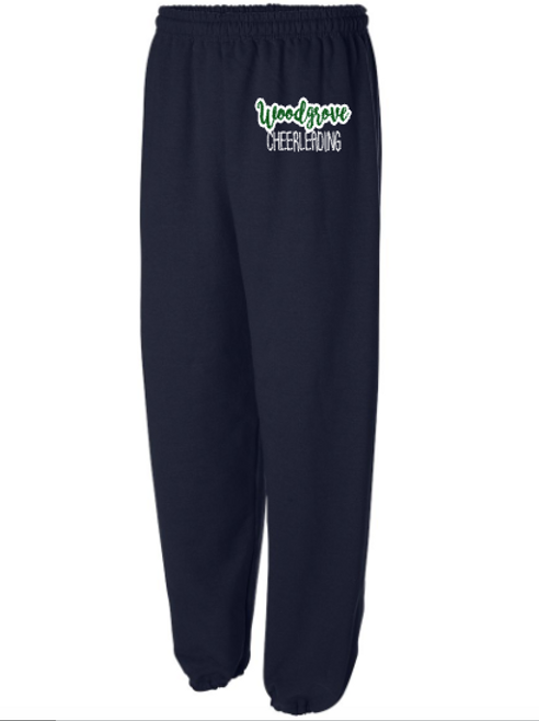 Navy Sweatpants with Pockets