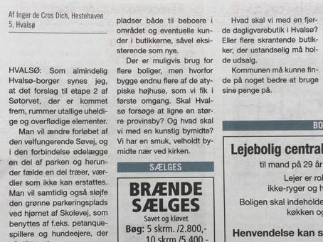 Hvalsø, Søtorvet - utilfredshed
