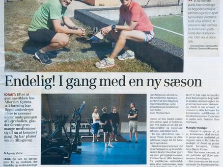"""Efter 2 år i """"landflygtighed"""" kommer nu både Gymnastikforeningen og Lejre fitness igang"""
