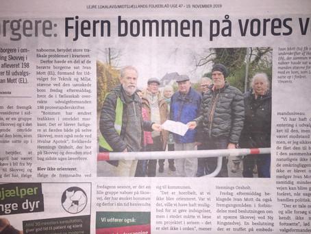 Nye protester i Hvalsø