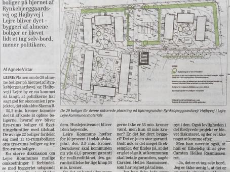 Kr. 55,2 mio. for 29 almene boliger + grund?