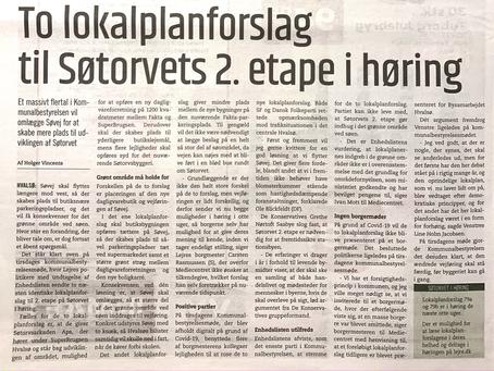 Hvalsø, Søtorvet, ny høring