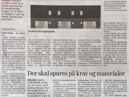 Ringere byggekvalitet på Almene boliger