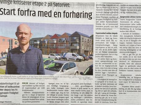Hvalsø, Søtorvet - utilfredshed igen igen
