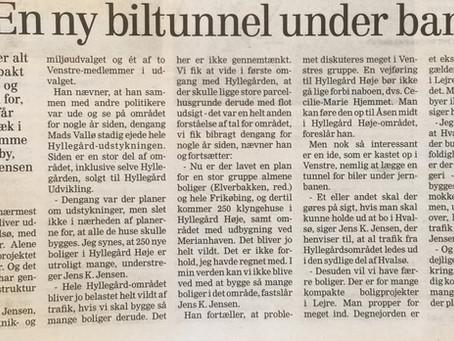 +400 boliger i Hvalsø og +400 boliger i Lejre By - men hvad med trafikken!
