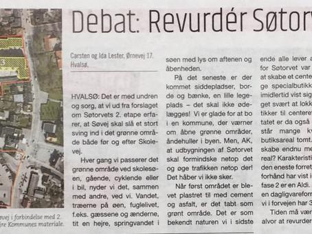 Hvalsø, sidste udkald for revidering