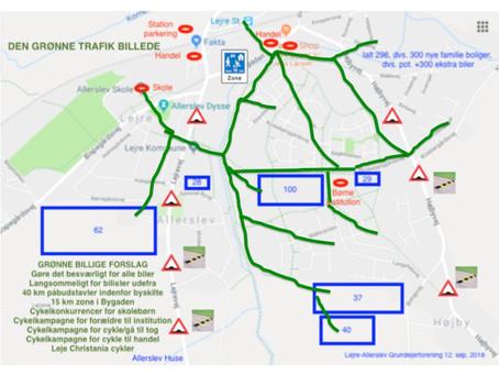 Vore grønne trafikdæmpende forslag