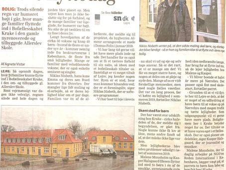 I dag kom endnu + 100 mennesker til Lejre, til den dejlige gamle skole i Allerslev