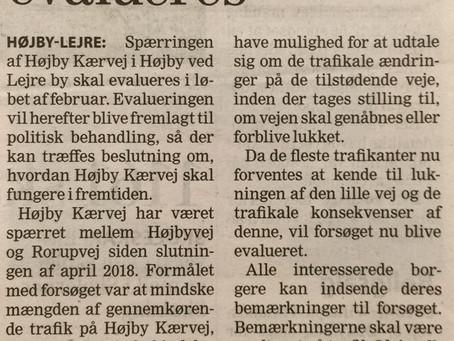 Vej spærring i Højby besluttes