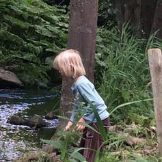 I sommertiden et skønt sted for børnene at gå på opdagelse.
