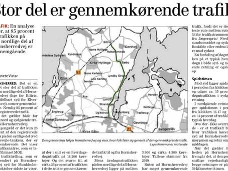 Trafikanalyse af Hornsherredvej, herunder Sæby og Lyndby