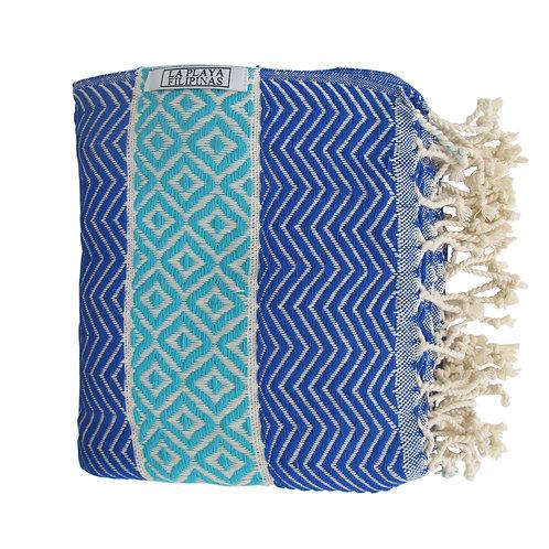Peshtemal Towel - Cyan Blue