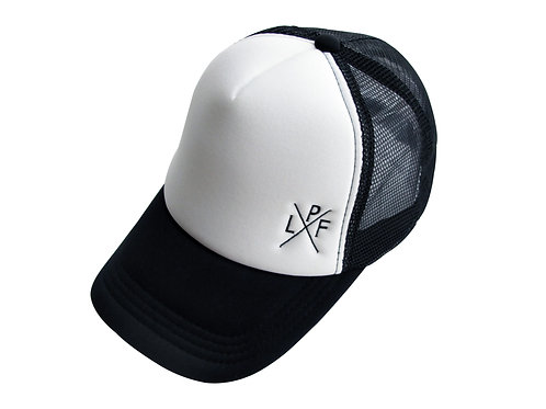 Trucker Cap LPFx White